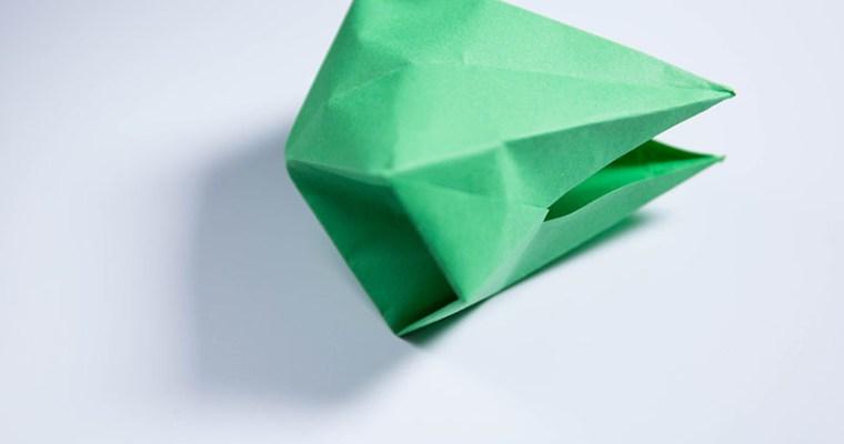 Origami Dragon Head