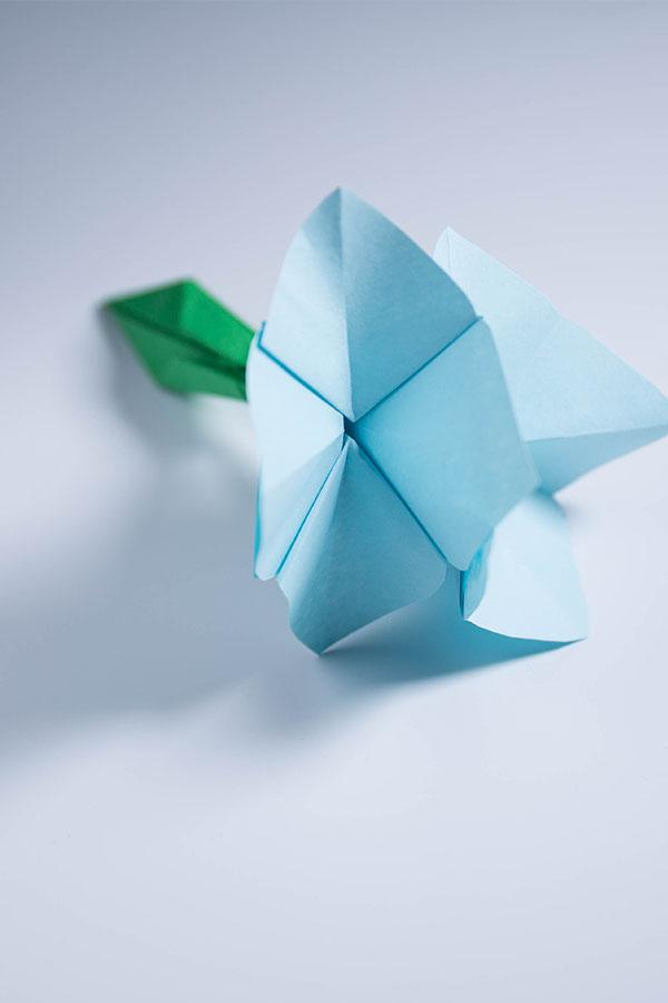 Origami Flower Stem