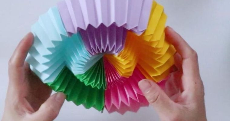 how to make a infinite flip fun toy origami