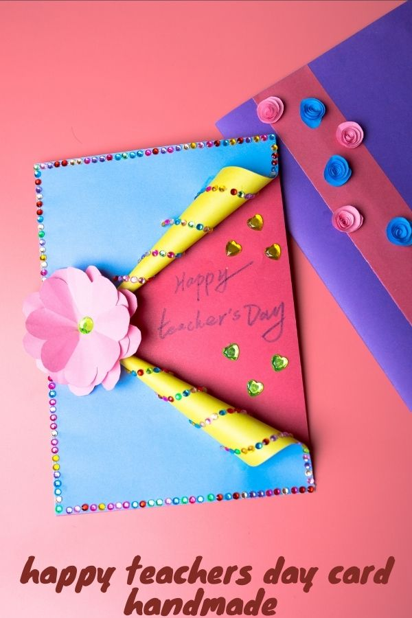 how to make a teacher's day card  diy crafts  findpea