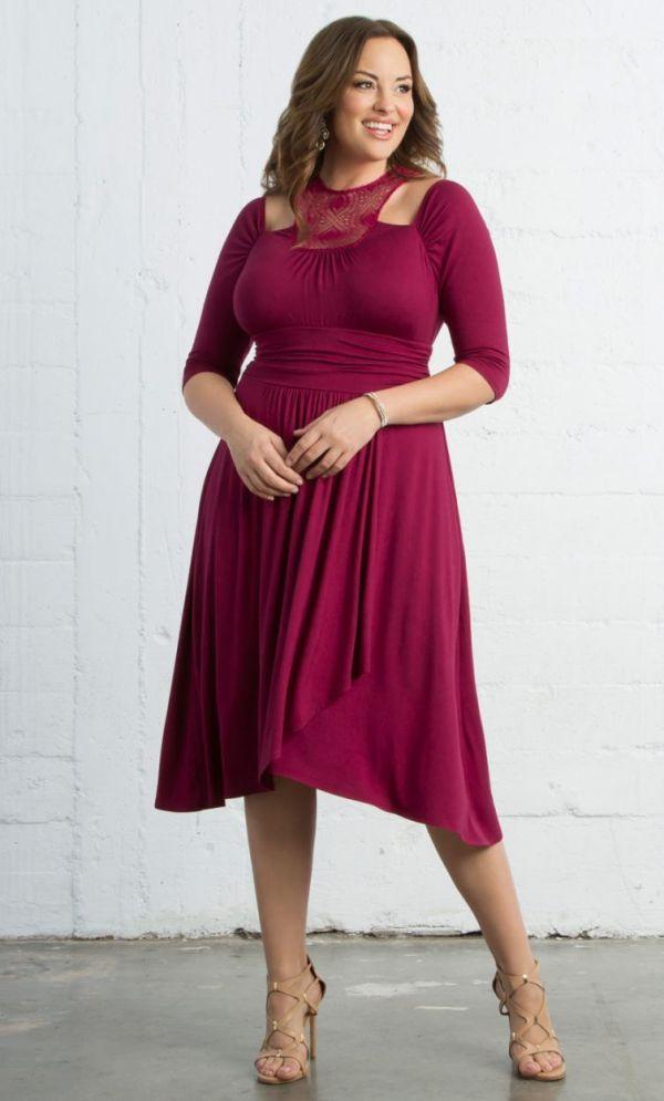Chloe Crochet Dress, Passionfruit