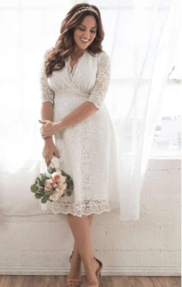 f4b19f1cda8 Wedding Dresses for the Bride-to-be - Find Plus Size Fashions