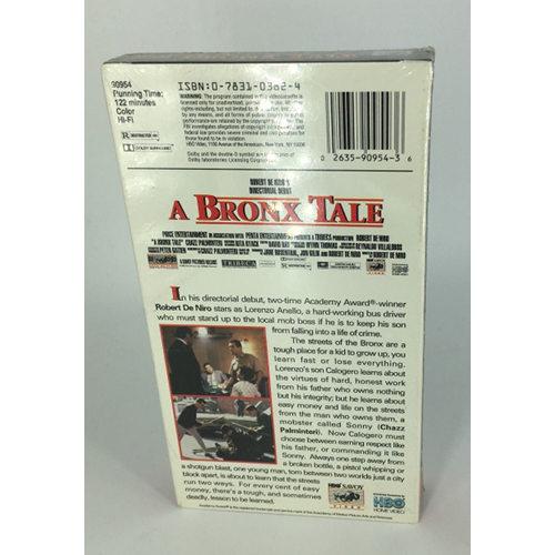 A Bronx Tale (VHS, 1994)back 0026359095436