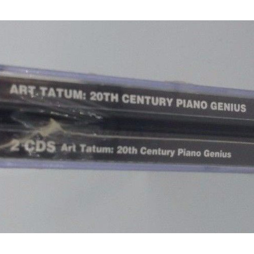 ART TATUM: 20th Century Piano Genius 2-CD Set 39 Tracksside