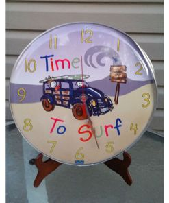 Dean Miller Surf Wall Clock