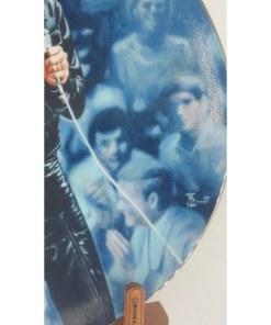 Elvis Presley Enterprises Presents 68 Comeback Special Bruce Emmett Plate sign