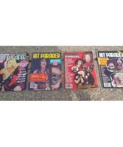 Hit Parader Magazine ot 4. 1980's. Priest, Maiden, Leppard, ACDC