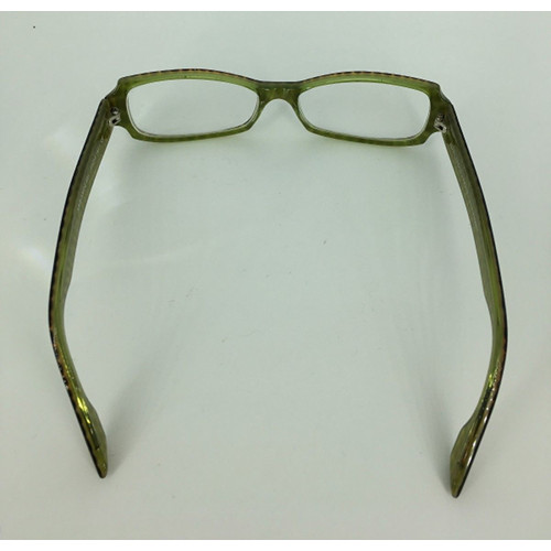 Jean Lafont Paris France Ambiance 521 Animal Print Eyeglass Frames fulll 53-15-140