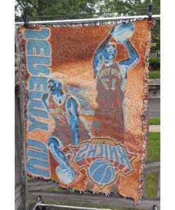 Linsanity Jeremy Lin NBA NY Knicks Wall Hanging Blanket Room Decor36x47back