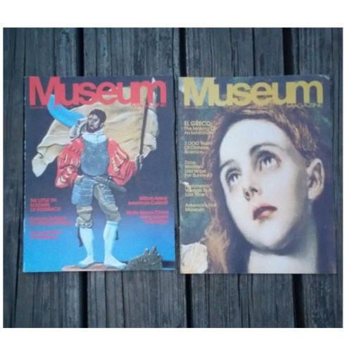 Museum Magazine 1982 ISSUES