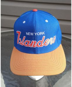 New York Islanders Mitchell & Ness Snapback (NHL) One Size Original Logo Rare