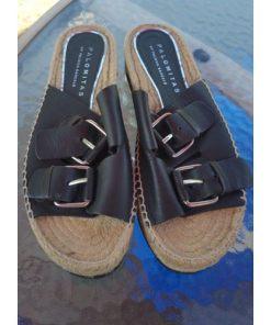 Palomitas Paloma Barceló Espadrille Flat Sandals Size 41=10-10.5