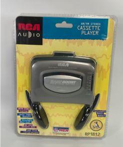 RCA FM AM Cassette Player Model RP1812 044319418125