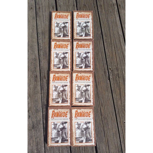 Rawhide the Collectors Edition, 8 VHS Tapes, 16TV series Episodes, 1959-1965