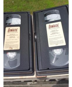 Rawhide the Collectors Edition, 8 VHS Tapes, 16TV series Episodes, 1959-1965open