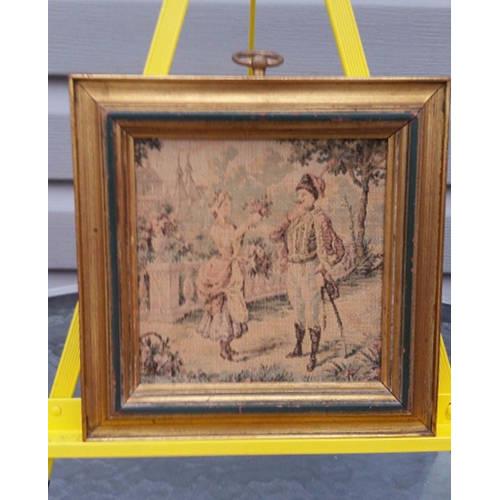 SUNGOTT ART STUDIOS FRAMED TAPESTRY ELEGANT VICTORIAN DECORsingle4