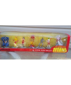 Teen Titans Boxed PVC 7 Figure Set 2000 DC Comics