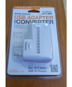 Travelon Universal-3-in-1 Converter, Adapter, USB Charger