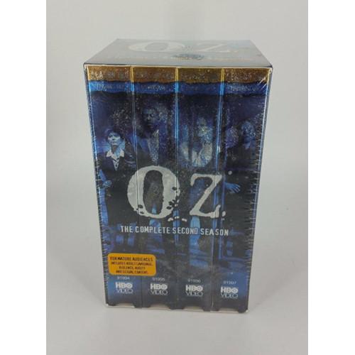 VIDEO -VHS - OZ THE COMPLETE SECOND SEASON 4 TAPE SET SEASON 2 side