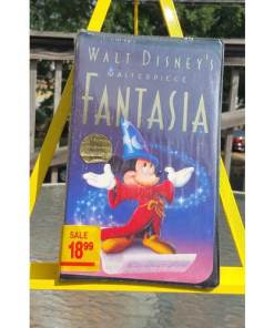 Walt Disney VHS Video Fantasia Masterpiece CLAMSHELL 0717951132031