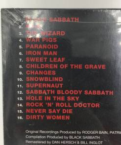BLACK SABBATH CD - GREATEST HITS 1970-1978 (2006) tracklist