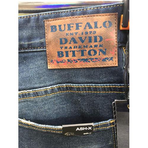 Buffalo David Bitton ASHX Fleece Denim Sz 38x32 back