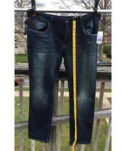 Buffalo David Bitton ASHX Fleece Denim Sz 38x32 length