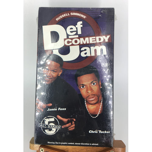 Def Comedy Jam All Stars 5 (1999) VHS Jamie Foxx Chris Tucker 764315088732