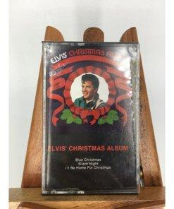 Elvis' Christmas Album Audio 1995 Cassette Tape 084646242840