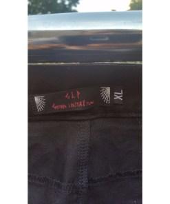 GLP UNISEX INDUSTRIAL EMO GOTHIC BONDAGE Punk Rock PANTS Black X-LARGE logo