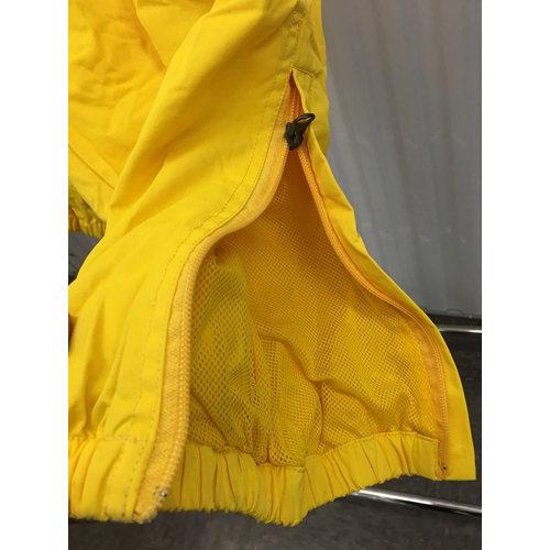 Polo Sport Track Pants Mens S Joggers Yellow 90s Ralph Lauren Zip