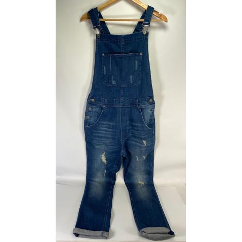 Sergeant Pepper Clothing Co. Indigo Blue Denim S.P.C.C Overalls