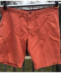 Tommy Bahama Shorts Mens 38 Flat Front Pumpkin Orange