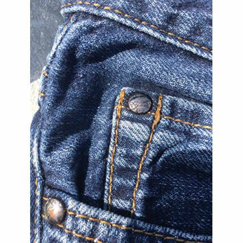 Versace collection Denim jeans cotton size 32 button2
