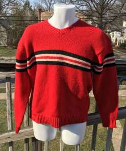 polo sport knitted sweater size M