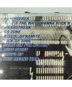 AC:DC - BLOW UP YOUR VIDEO REMASTERED CD tracklist 696998021228