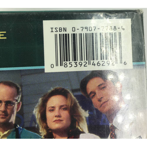 ER - The Complete First Season (DVD, 2003, 4-Disc Set 085392462926) barcode