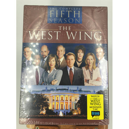The West Wing Complete Fifth Season The West Wing - The Complete Fifth Season (DVD, 2005, 6-Disc 012569712768