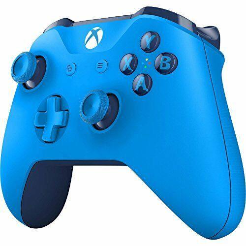 microsoft xbox one wirless controller blue