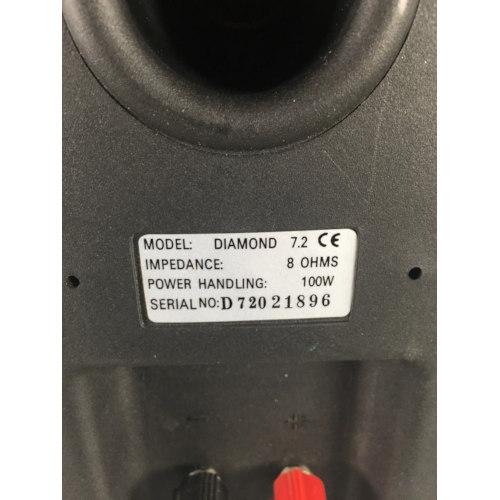 wharfedale diamond 7.2 bookshelf speakers