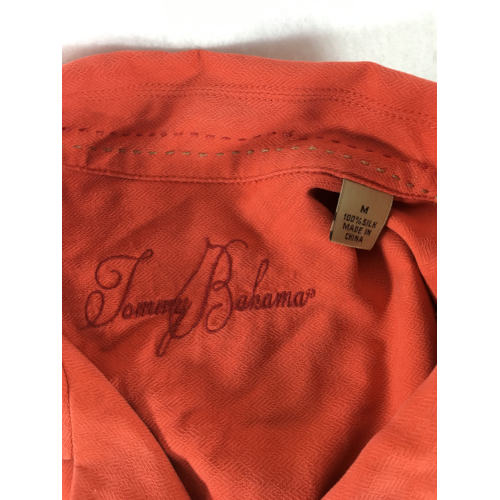 tommy bahama red silk shirt