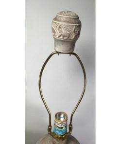 Underwriters Laboratories Large Elephant Table Lamp lock top