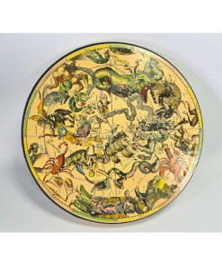 1965 Springbok Round Jigsaw Puzzle Myth And Fact In The Zodiac