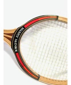 DUNLOP MAXPLY McEnroe Wooden Tennis Racquet