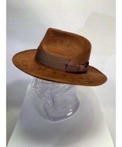 Doctor Who Hat 4th Dr Fedora Brown Jones Tom Baker Costume Elope