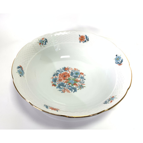 IMARI by EUROPA 9 3/8 Vegetable Round Bowl - Czechoslovankia