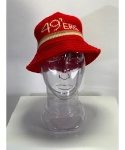 VinNFL San Francisco 49ers Knit Bucket Hat Cap