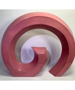 Original Abstract Enso Circle Minimalist Centerpiece Home Decor