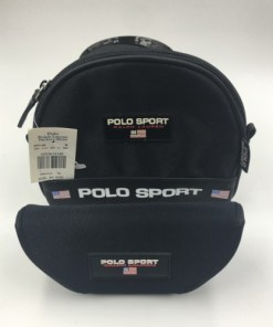 New with Tag POLO SPORT Cosmetic Bag Soft Sunglasses Case