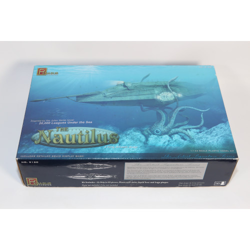 Pegasus Hobbies 1:144 Scale The Nautilus Submarine Model Kit